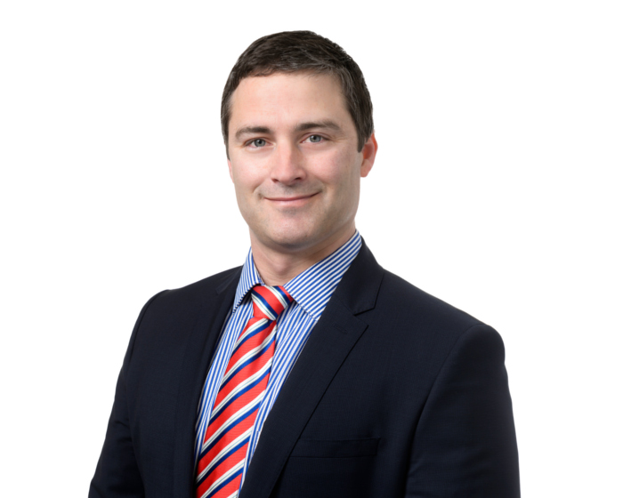 Portrait of orthopaedic surgeon doctor Justin Munt