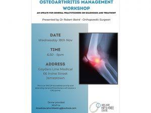 Osteoarthritis Management Workshop